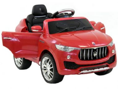 Maserati Levante SUV Official Toy RED | 6v battery powered kids jeep sit & ride-in car